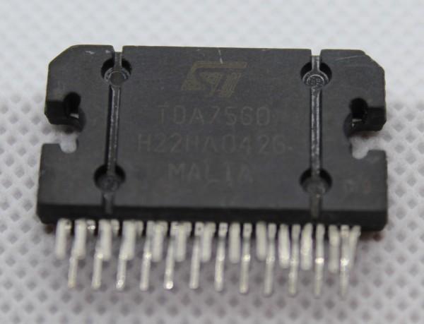 TDA7560 quad bridge car radio amplifier