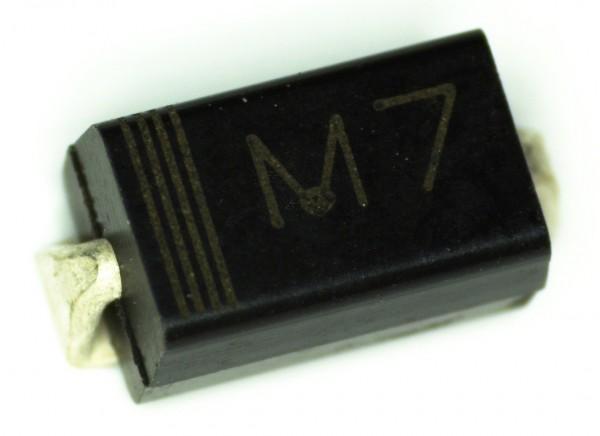 1N4007 (M7) DO-214AC SMA