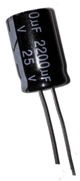 2200 µF 25V