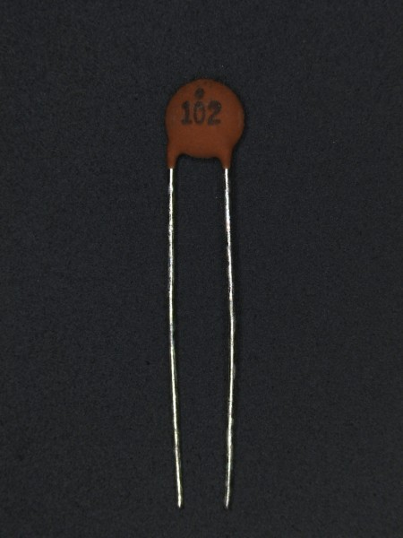 1nf 50V Keramik-Scheibenkondensator